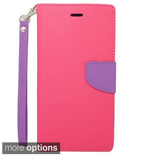 INSTEN Wallet Flap Pouch Cover Case with Card Slot For Apple iPhone 6 Plus