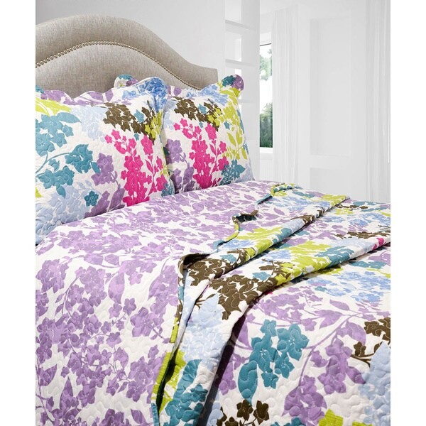 Slumber Shop Danielle 3-piece Reversible Quilt Set