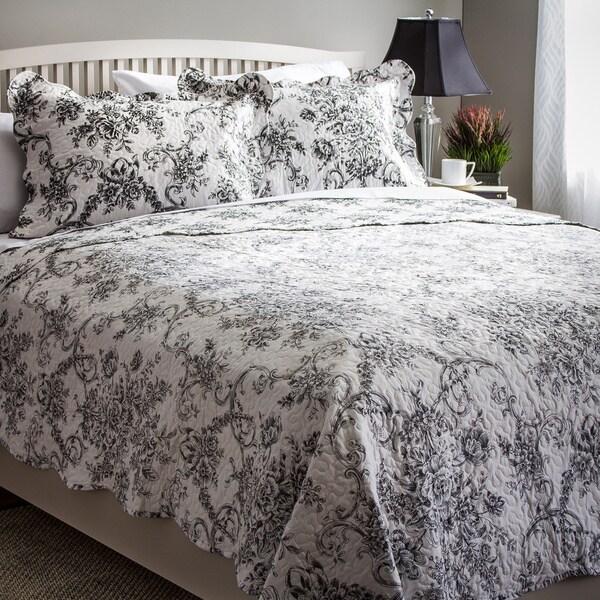 Slumber Shop Francesca 3-piece Reversible Quilt Set