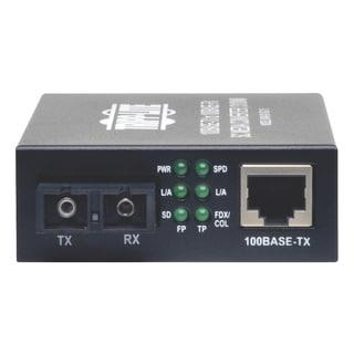 Tripp Lite 10/100 UTP to Singlemode Fiber Media Converter RJ45 / SC 1