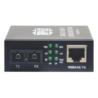 Tripp Lite 10/100 UTP to Multimode Fiber Media Converter RJ45 / SC 55