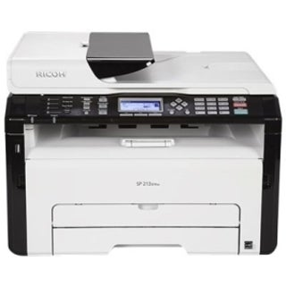 Ricoh SP 213SFNw Laser Multifunction Printer - Monochrome - Plain Pap