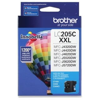 Brother Innobella LC205C Ink Cartridge - Cyan