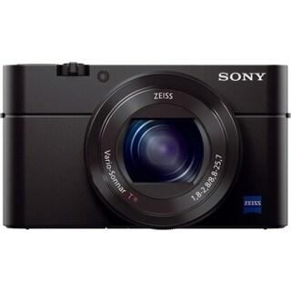 Sony Cyber-shot RX100 III 20.1 Megapixel Compact Camera - Black