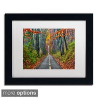 CATeyes 'Paths' Framed Matted Art