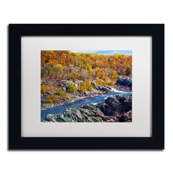 CATeyes 'Potomac Autumn' Framed Matted Art