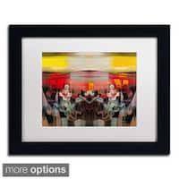 Andrea 'Sunset' Framed Matted Art