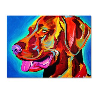 DawgArt 'Viszla' Canvas Art
