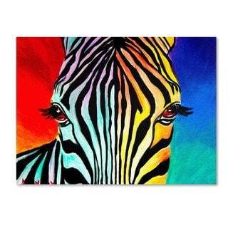DawgArt 'Zebra' Canvas Art