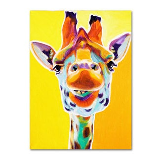 DawgArt 'Giraffe No. 3' Canvas Art