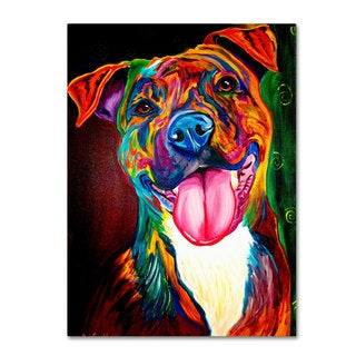 DawgArt 'Smile Time' Canvas Art