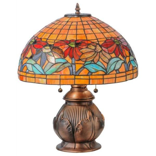 19.5-inch Black Eyed Susan Table Lamp