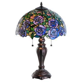 24-inch Tiffany-style Rosebush Table Lamp