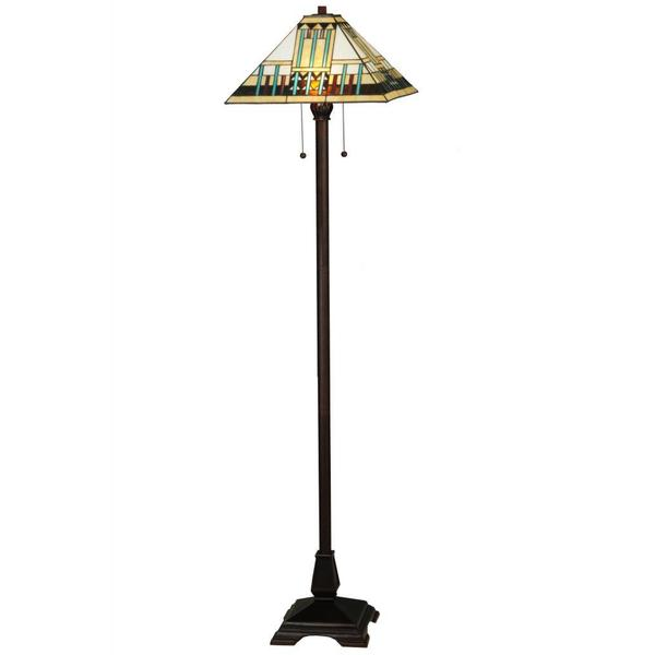 62-inch Zaragoza Mission Floor Lamp