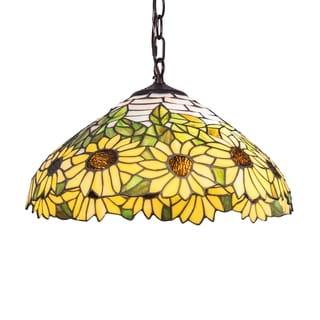 16-inch Wild Sunflower Pendant