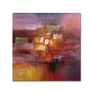 Ricardo Tapia 'Shadows' Canvas Art