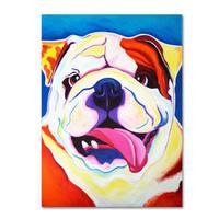 DawgArt 'Bully Grin' Canvas Art