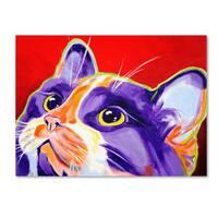 DawgArt 'Cat Issa' Canvas Art