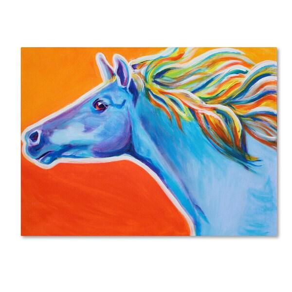 DawgArt 'Horse Like The Wind' Canvas Art