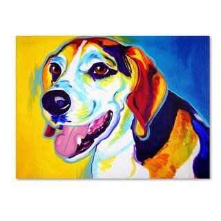 DawgArt 'Lou' Canvas Art