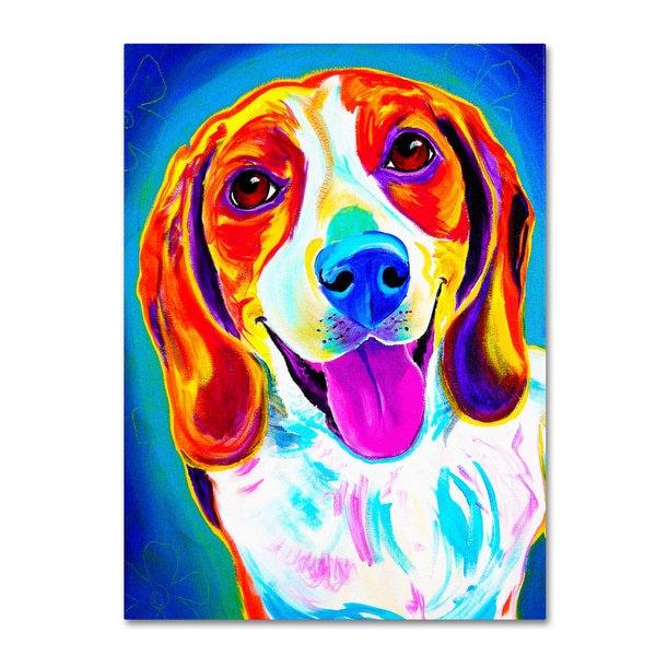 DawgArt 'Lucy' Canvas Art - Multi