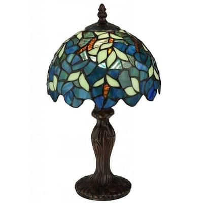 14-inch Nightfall Wisteria Mini Lamp