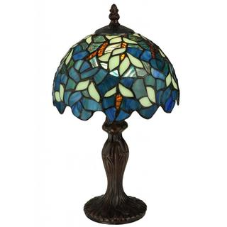 14-inch Nightfall Wisteria Mini Lamp