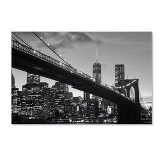 CATeyes 'Brooklyn Bridge 5' Canvas Art