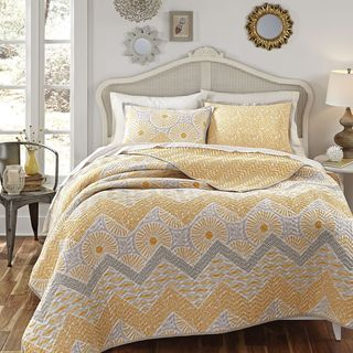 KD Spain Sunnyside 3-piece Cotton Quilt Set (3 options available)
