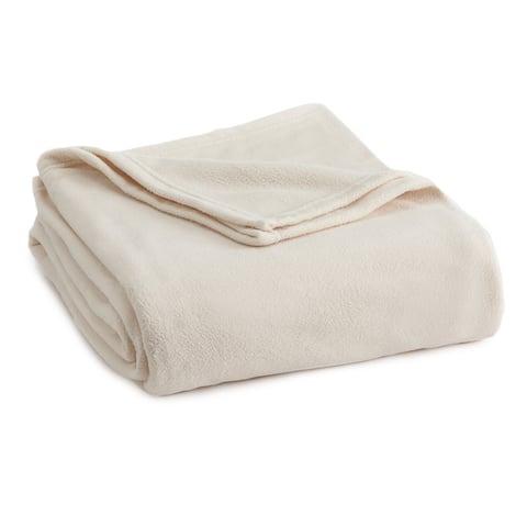 Vellux Fleece Solid Color Blanket