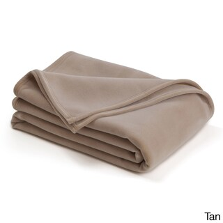 Vellux Original Solid Colored Microplush Blanket (2 options available)
