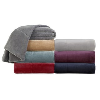 Vellux Plush Lux Microplush Blanket