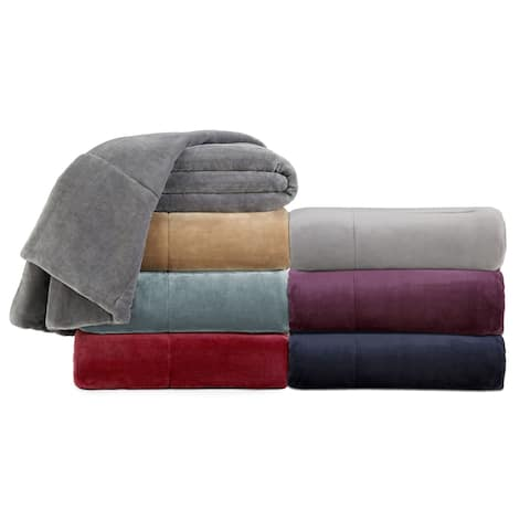 Vellux Plush Lux Microplush Blanket