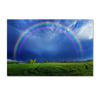 Philippe Sainte-Laudy 'Lucky Rainbow' Canvas Art - Multi