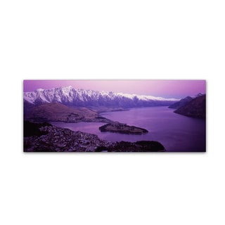 David Evans 'Queenstown and The Remarkables-NZ' Canvas Art