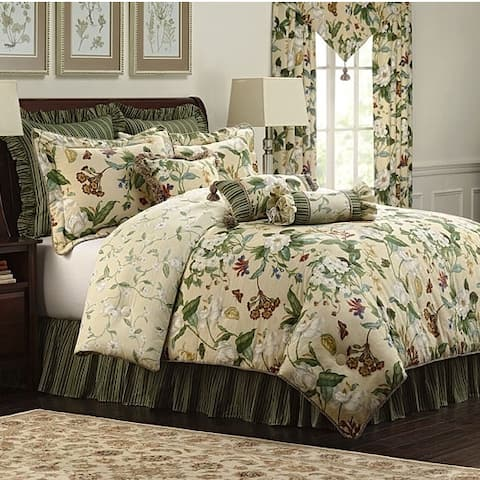 Williamsburg Garden Images 4-piece Comforter Set