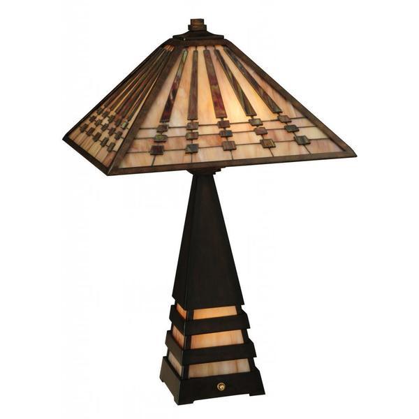 Ra 2 Light Lighted Base Table Lamp
