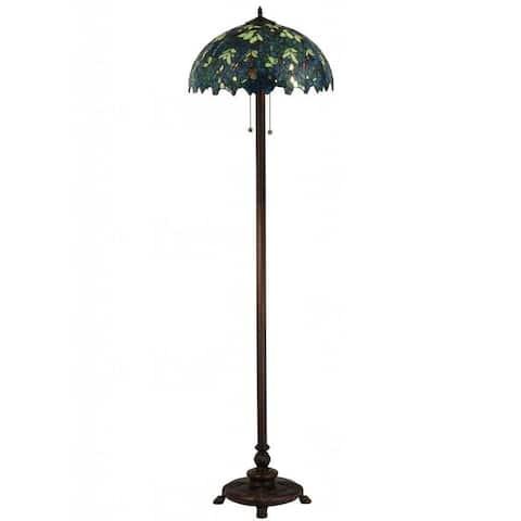 63-inch Nightfall Wisteria Floor Lamp