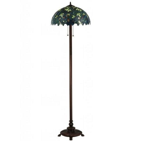 63-inch Nightfall Wisteria Floor Lamp