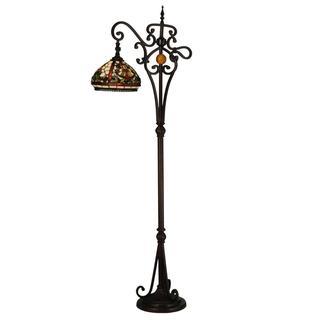 63-inch Baroque Bridge Arm Floor Lamp
