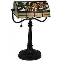 15-inch Vineyard Banker's Lamp