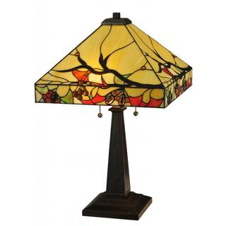 25-inch Woodland Berries Table Lamp