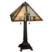 26-inch Prairie Wheat Harvest Table Lamp
