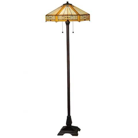 62-inch Peaches Floor Lamp - 62