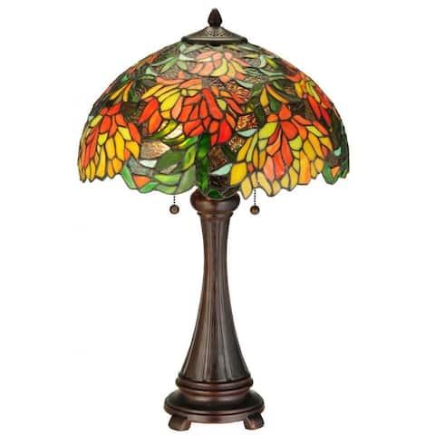 25-inch Lamella Table Lamp