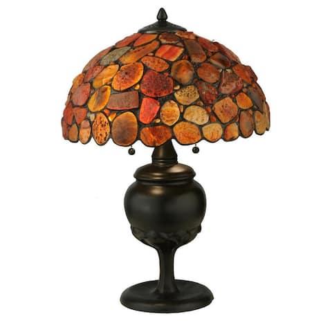 24-inch Jasper red Table Lamp