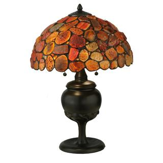 24-inch Jasper red Table Lamp