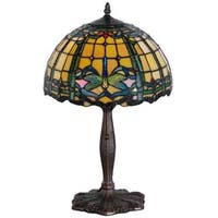 19-inch Tiffany-style Dragonfly Accent Lamp