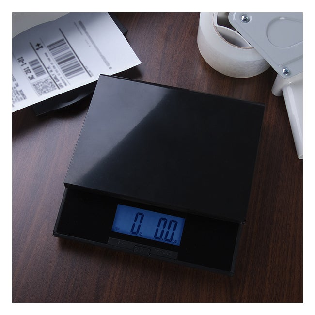 Digiweigh Digital Postal Shipping Scale with Blue LCD Dis...