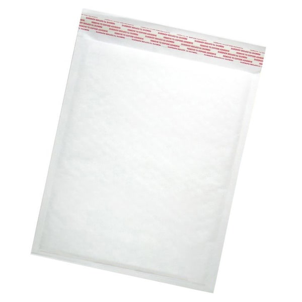 Size #1 Self Seal White Kraft Bubble Mailers